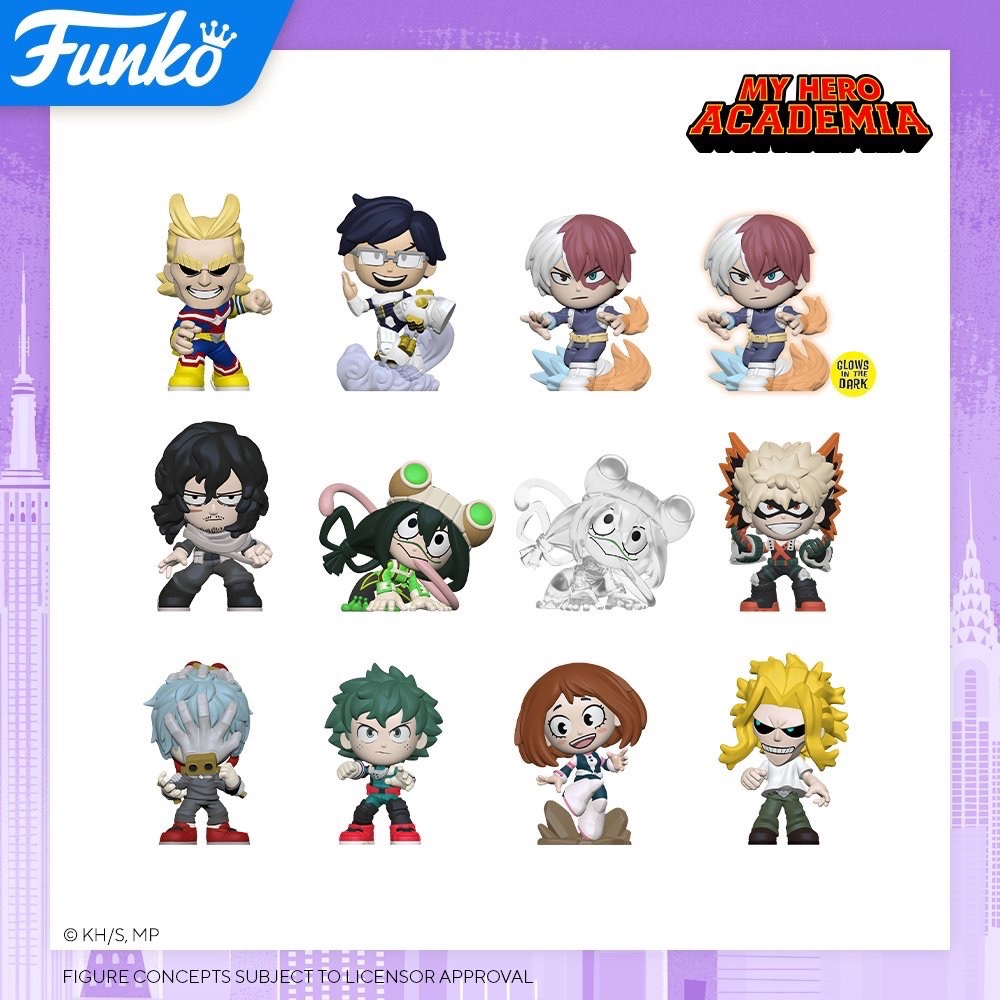 Toy Fair NY2020 Funko POP My Hero Academia Mystery minis