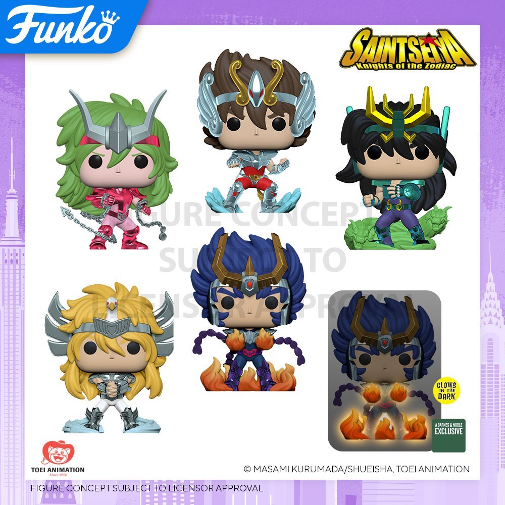 Toy Fair NY2020 Funko POP Saintseiya Knights of the Zodiac