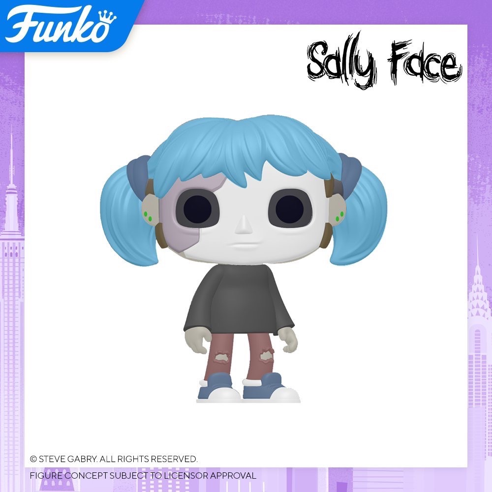 Toy Fair NY2020 Funko POP Sally Face