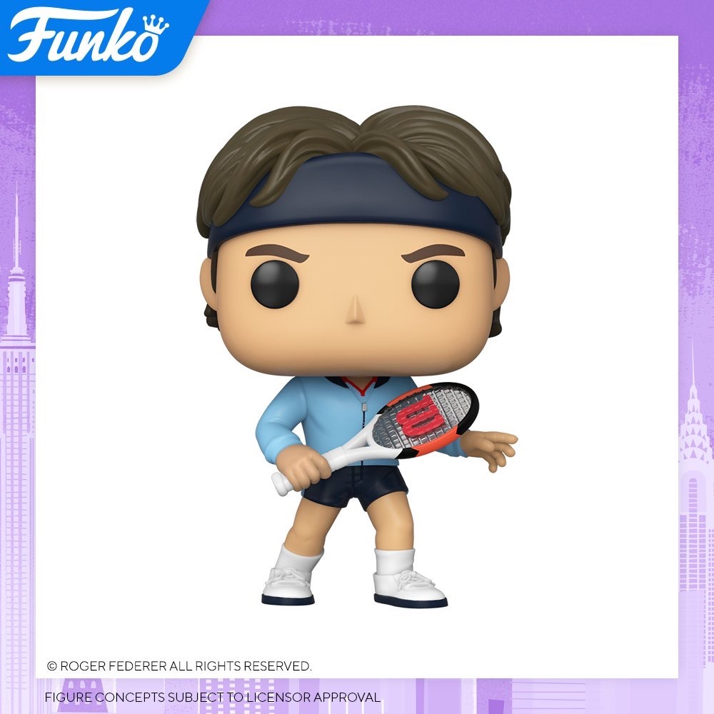 Toy Fair NY2020 Funko POP Federer