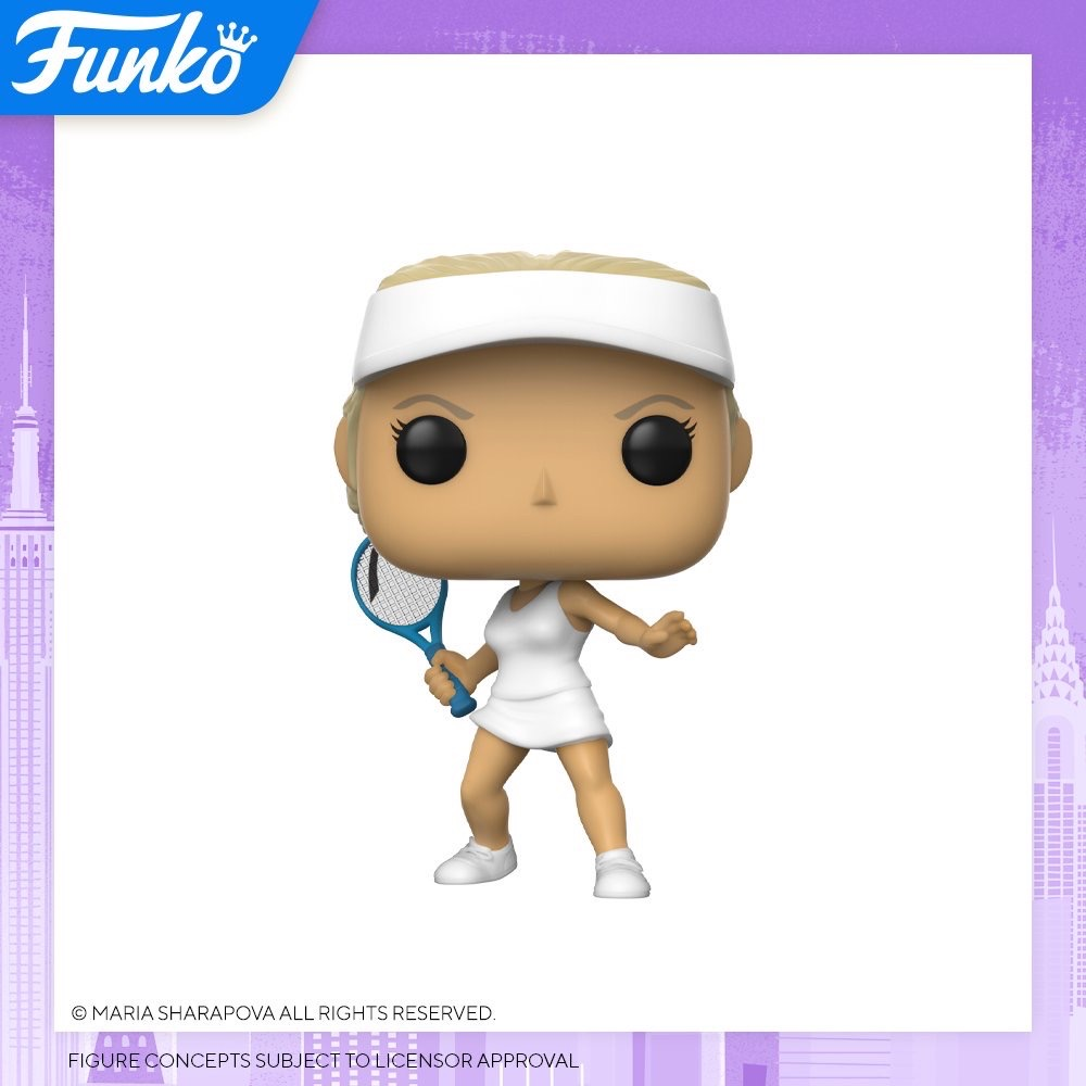 Toy Fair NY2020 Funko POP Sharapova