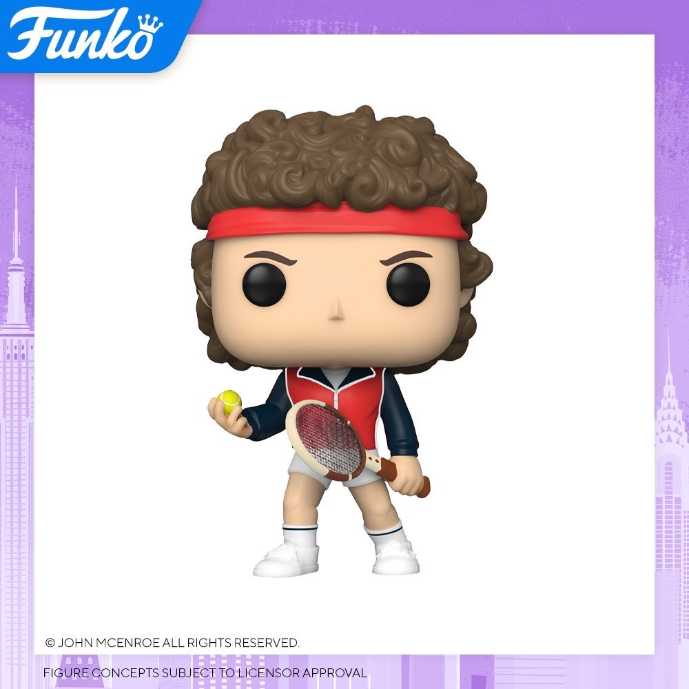 Toy Fair NY2020 Funko POP Mcenroe