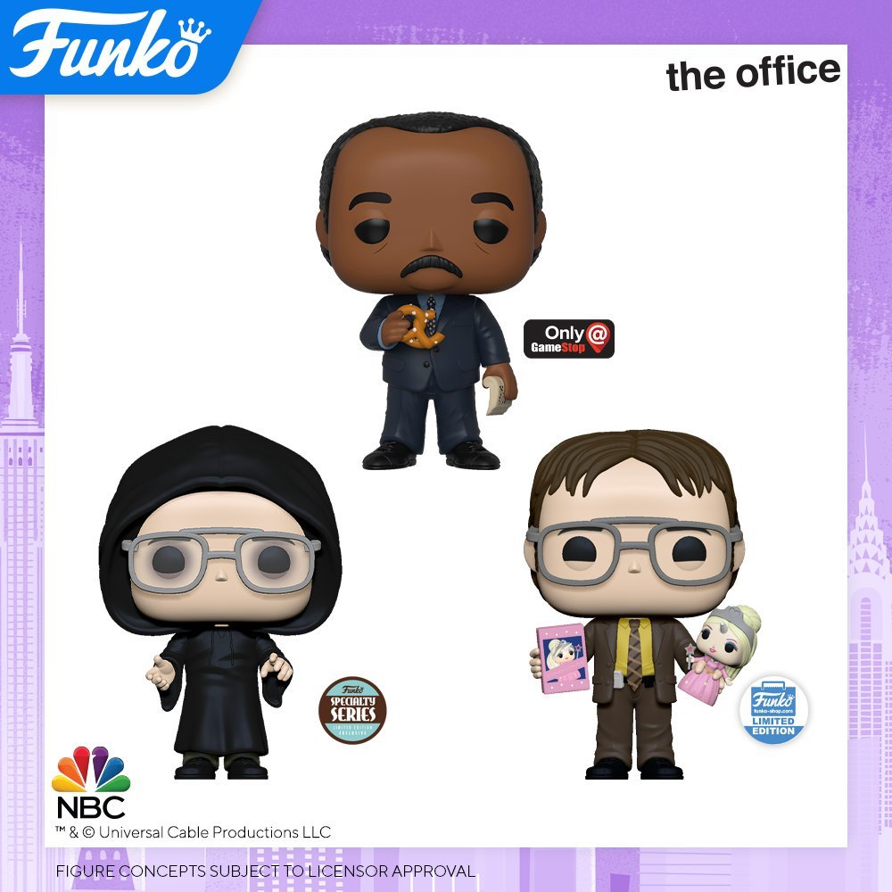 Toy Fair NY2020 Funko POP The Office exclusives
