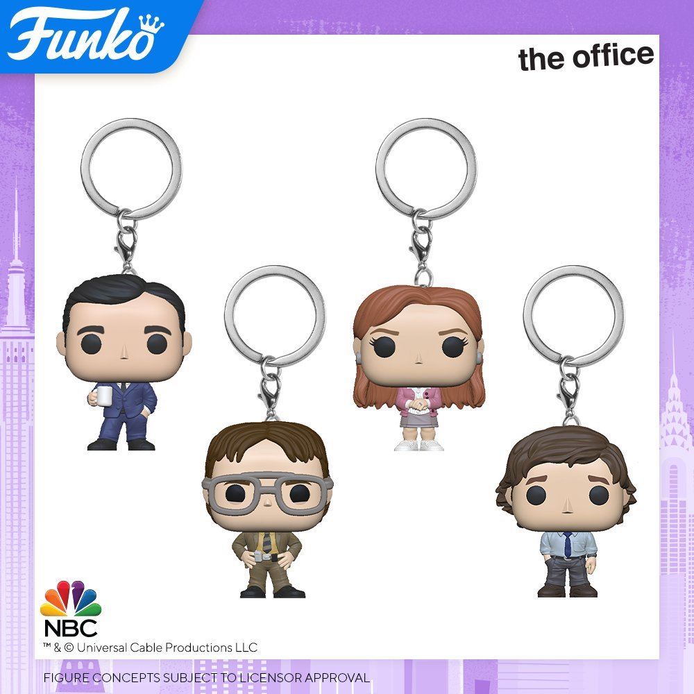Toy Fair NY2020 Funko POP The Office keychain