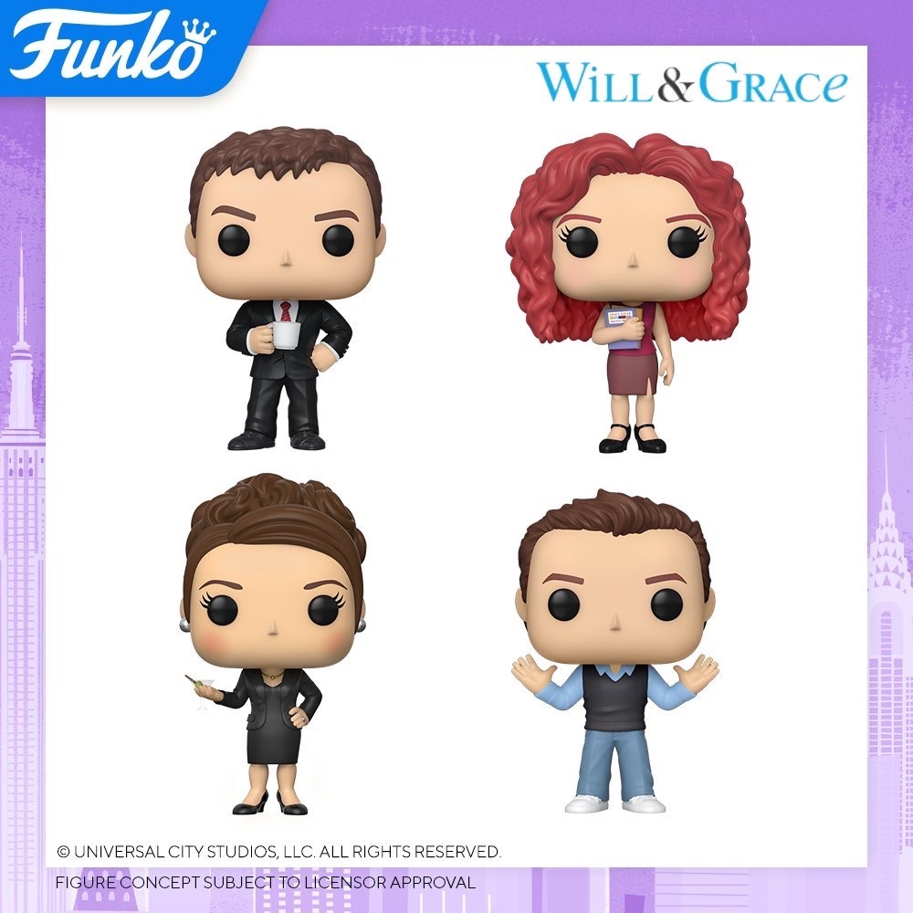 Toy Fair NY2020 Funko POP Will and Grace