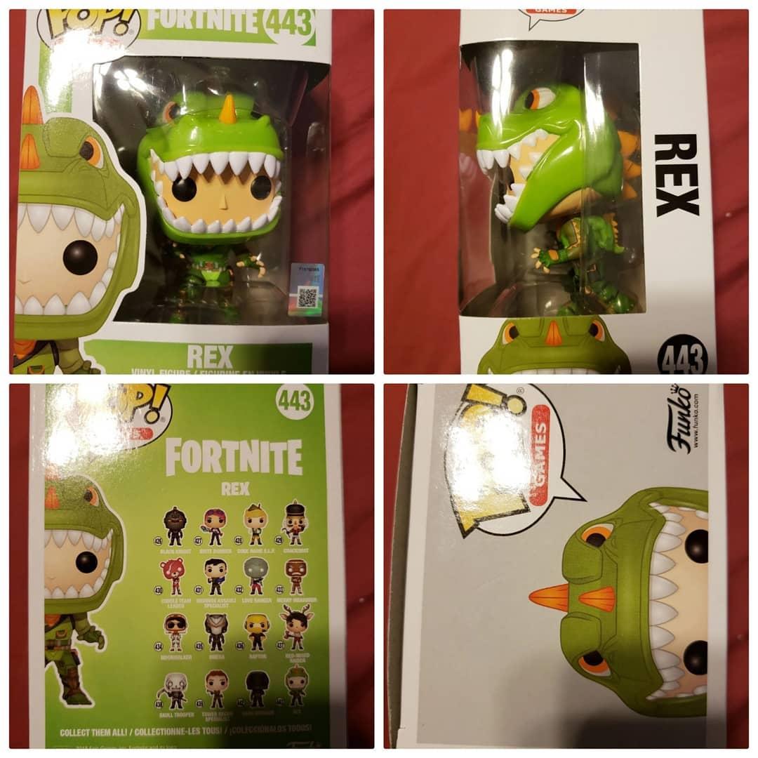 Rex из игры Fortnite