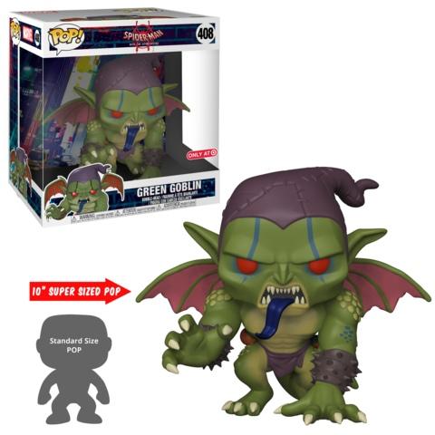 Зеленый гоблин (Green Goblin) 10 inch из мультика Человек-паук: Через вселенные