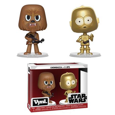 Звездные войны Чубакка и Си-трипио (Chewbacca and C-3PO)