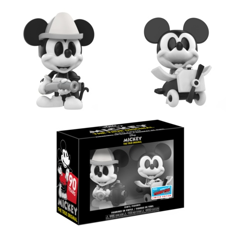 Мики Маус Mickey Mouse B&W 2-pack Mini Vinyl Disney