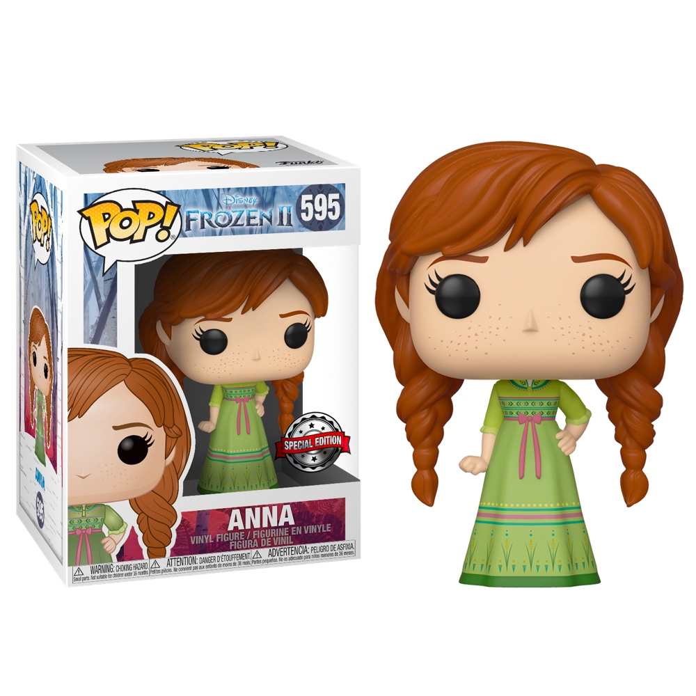 Фанко ПОП Анна в ночной рубашке (Anna with Nightgown (Эксклюзив Michaels)) из мультфильма Холодное сердце 2