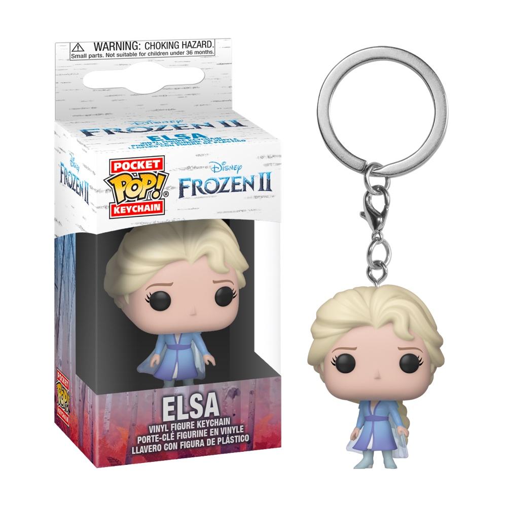 Фанко ПОП Эльза брелок (Elsa Keychain) из мультфильма Холодное сердце 2