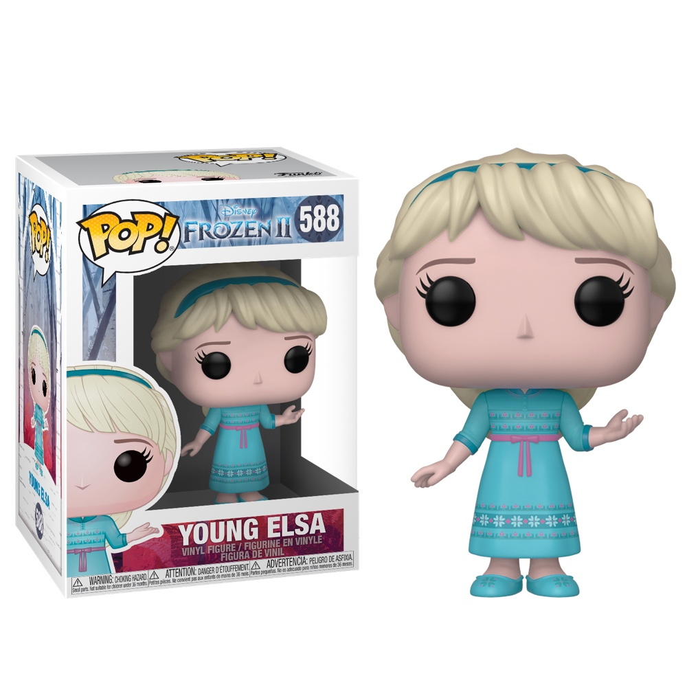 Фанко ПОП Эльза маленькая (Young Elsa) из мультфильма Холодное сердце 2