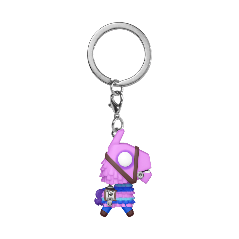 Фанко ПОП Лама-Пиньята брелок (Loot Llama Keychain) из игры Фортнайт