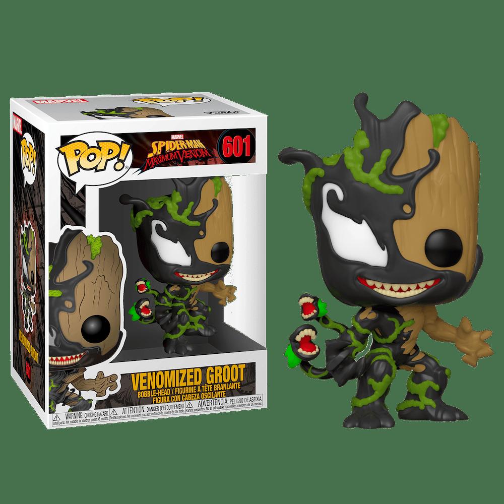 Фанко ПОП Веномизированный Малыш Грут (Venomized Baby Groot) из комиксов Марвел