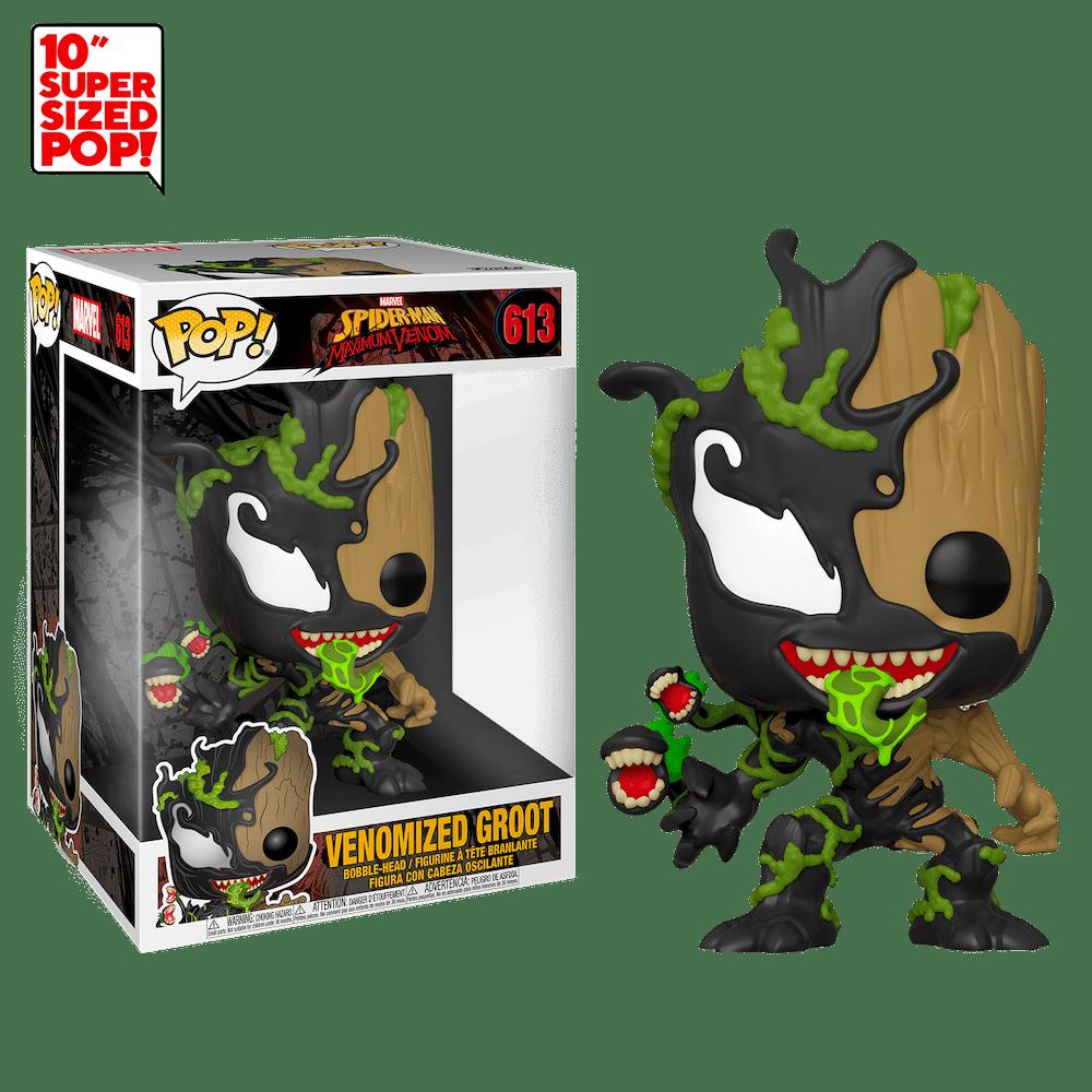 Фанко ПОП Веномизированный Малыш Грут 25 см (Venomized Baby Groot 10-inch) из комиксов Марвел