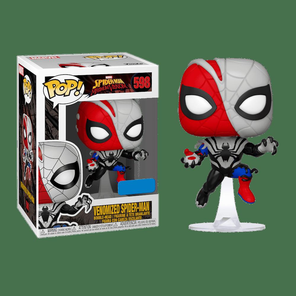 Фанко ПОП Веномизированный Человек-Паук (Venomized Spider-Man (Эксклюзив Walmart)) из комиксов Марвел