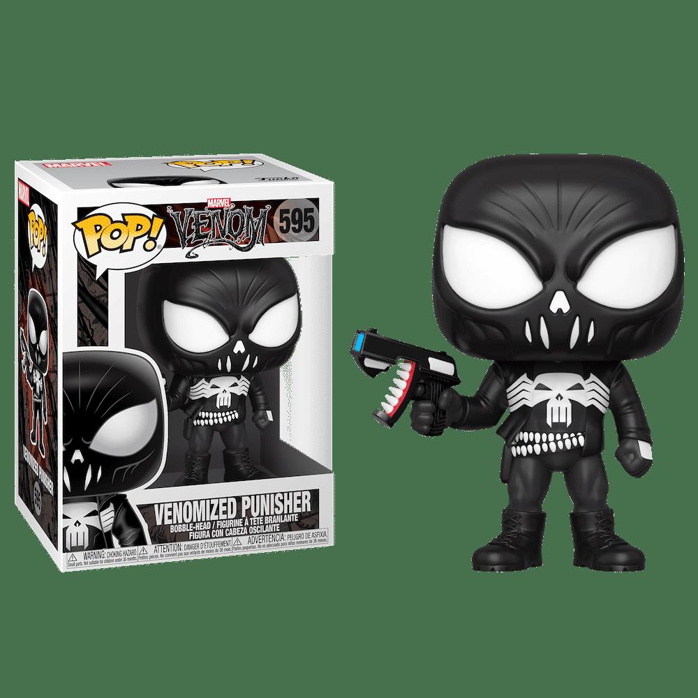 Фанко ПОП Веномизированный Каратель (Venomized Punisher) из комиксов Марвел