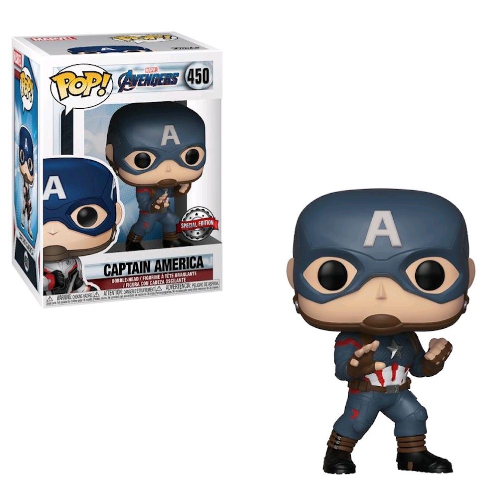 Капитан Америка (Captain America (Эксклюзив Hot Topic)) из фильма Мстители: Финал