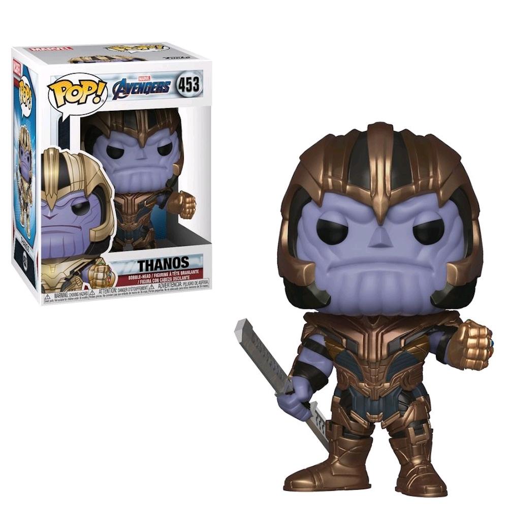 Танос (Thanos) из фильма Мстители: Финал