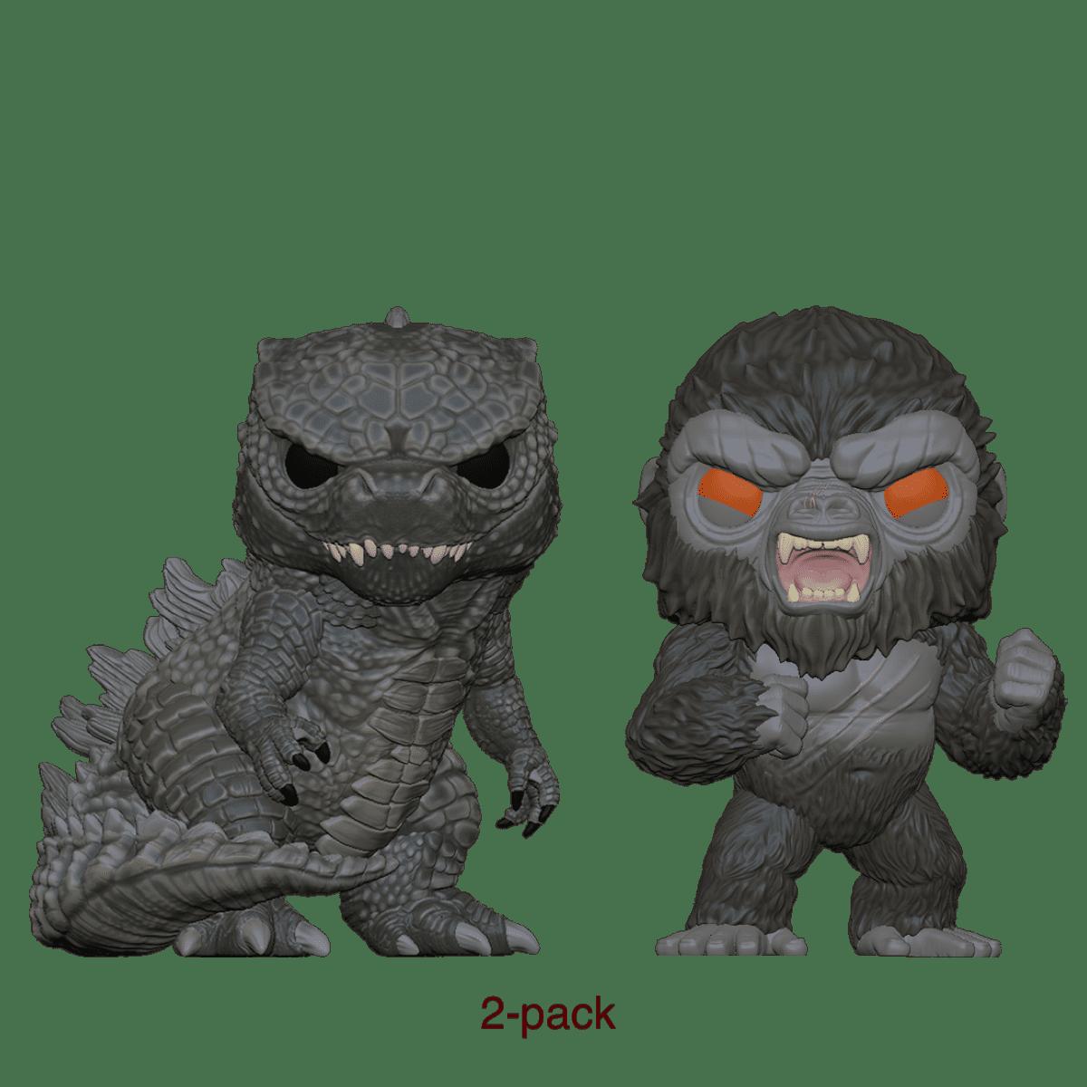 Фанко ПОП Годзилла и Конг (Godzilla and Kong 2-pack (Эксклюзив)) из фильма Годзилла против Конга