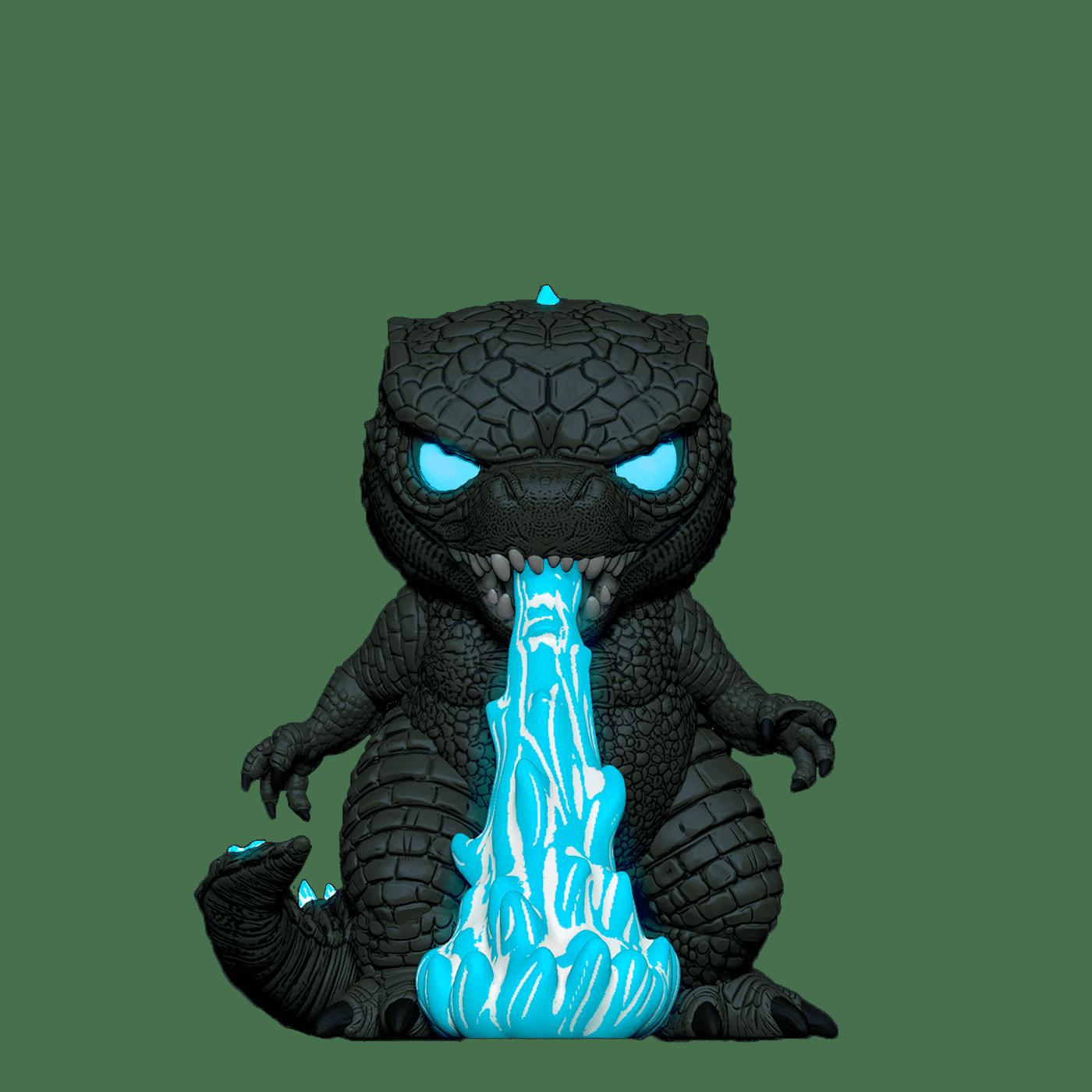 Фанко ПОП Годзилла с тепловым лучом светящийся (Heat Ray Godzilla GitD (Эксклюзив FYE)) из фильма Годзилла против Конга