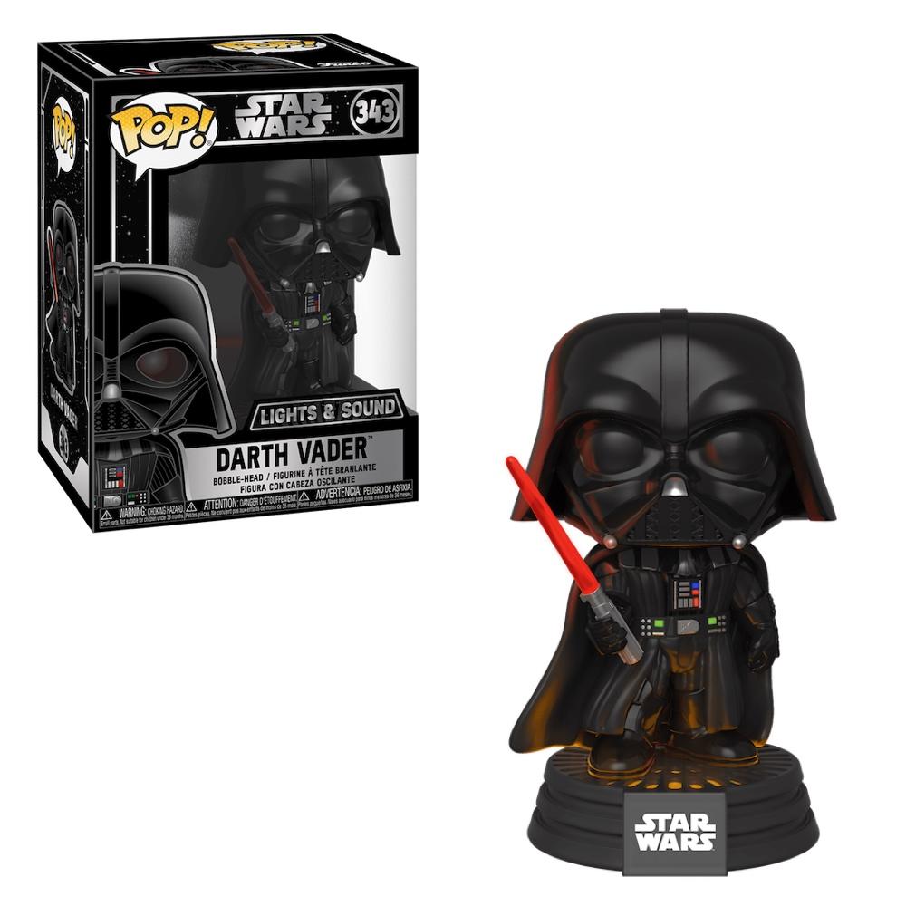 Фанко ПОП Дарт Вейдер со звуком и светом (Darth Vader Lights and Sound) из фильма Звёздные войны