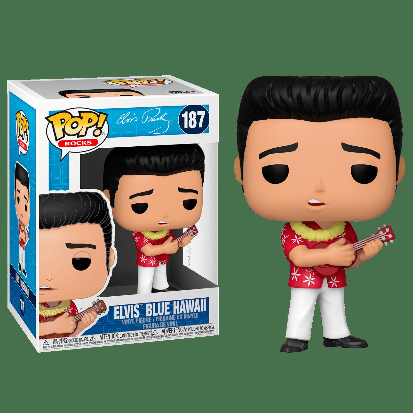 Фигурка Фанко ПОП Элвис Пресли Голубые Гавайи (Elvis Presley Blue Hawaii) из серии Музыканты