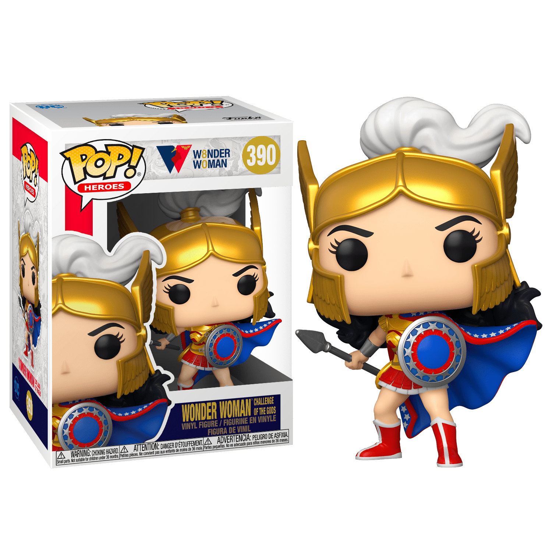 Фанко ПОП Чудо-женщина Вызов богов (Wonder Woman Challenge of the Gods 80th Anniversary) из комиксов ДС комикс