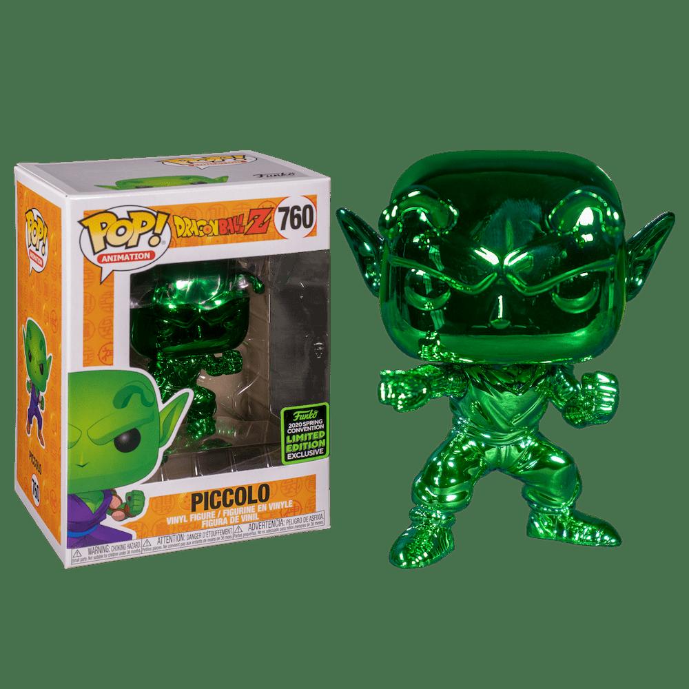Фанко ПОП Пикколо Даймао зеленый хром (Piccolo Green Chrome (Эксклюзив ECCC 2020)) из аниме сериала Драконий жемчуг Зет