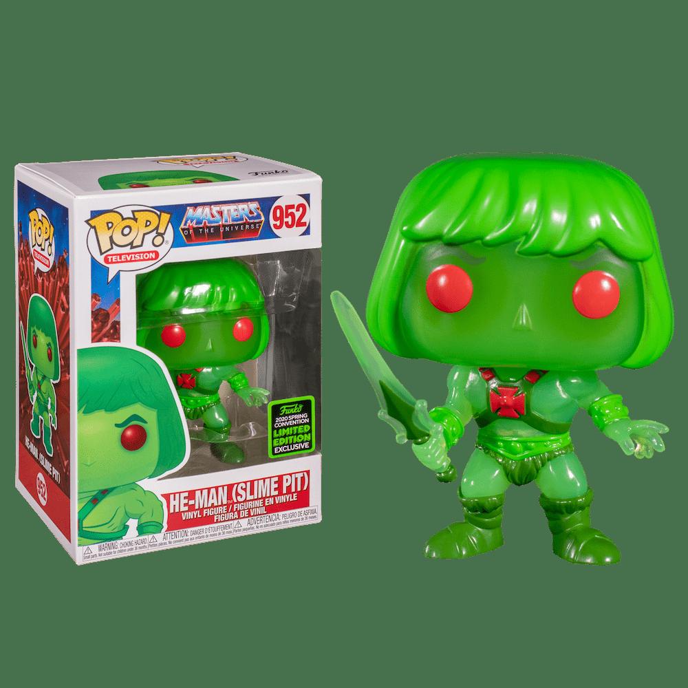 Фанко ПОП Слайм Пит Хи-Мен (Slime Pit He-Man (Эксклюзив ECCC 2020)) из мультика Властелины вселенной