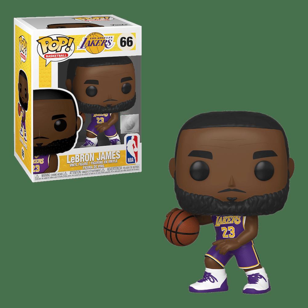 Фанко ПОП Леброн Джеймс Лос-Анджелес Лейкерс (LeBron James Los Angeles Lakers) из Баскетбол НБА