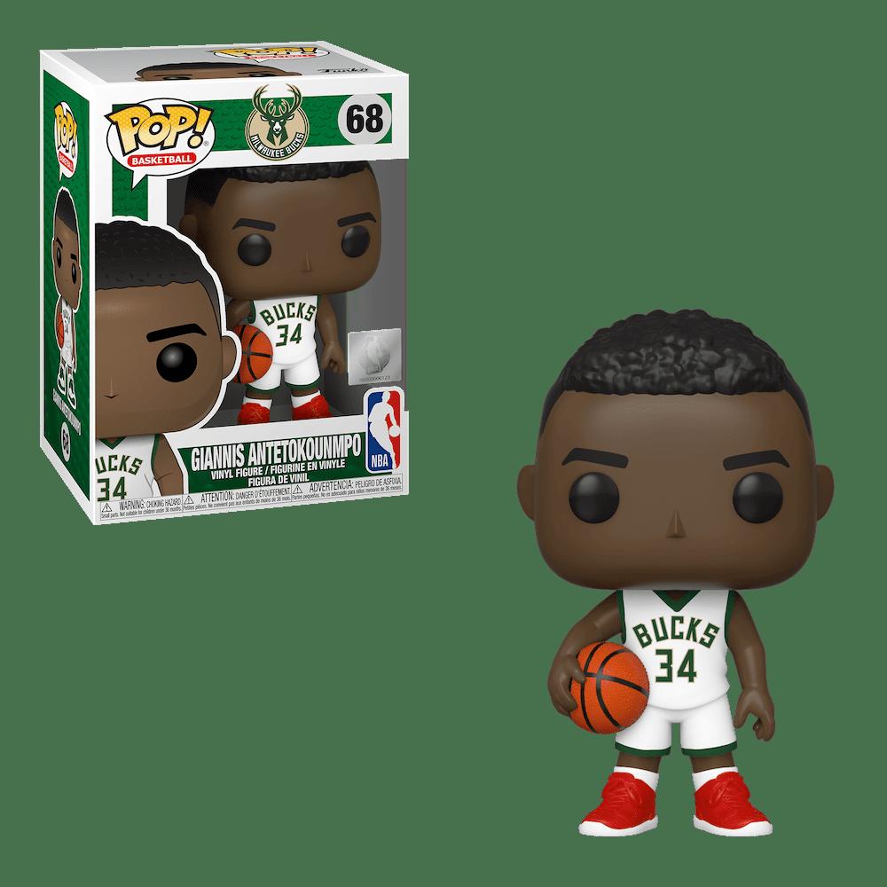 Фанко ПОП Яннис Адетокунбо Милуоки Бакс (Giannis Antetokounmpo Milwaukee Bucks) из Баскетбол НБА