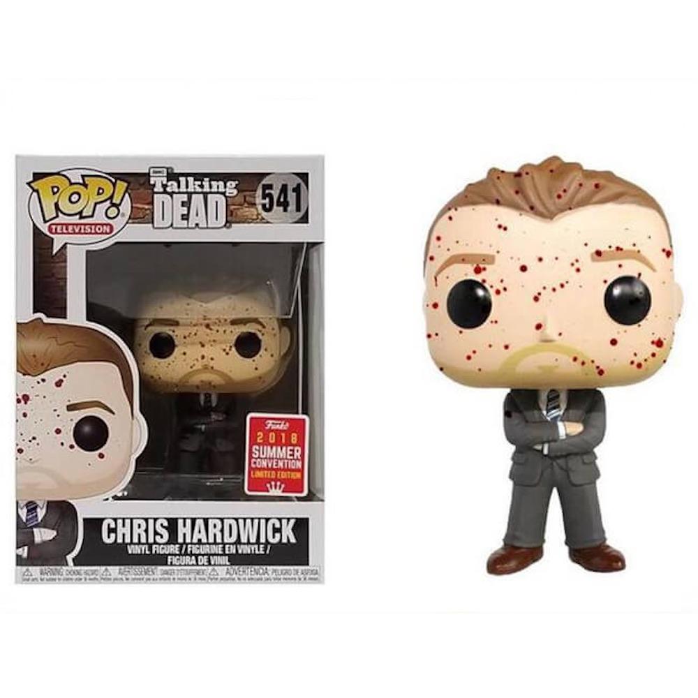 Крис Хардвик в крови (Chris Hardwick) из сериала Ходячие мертвецы