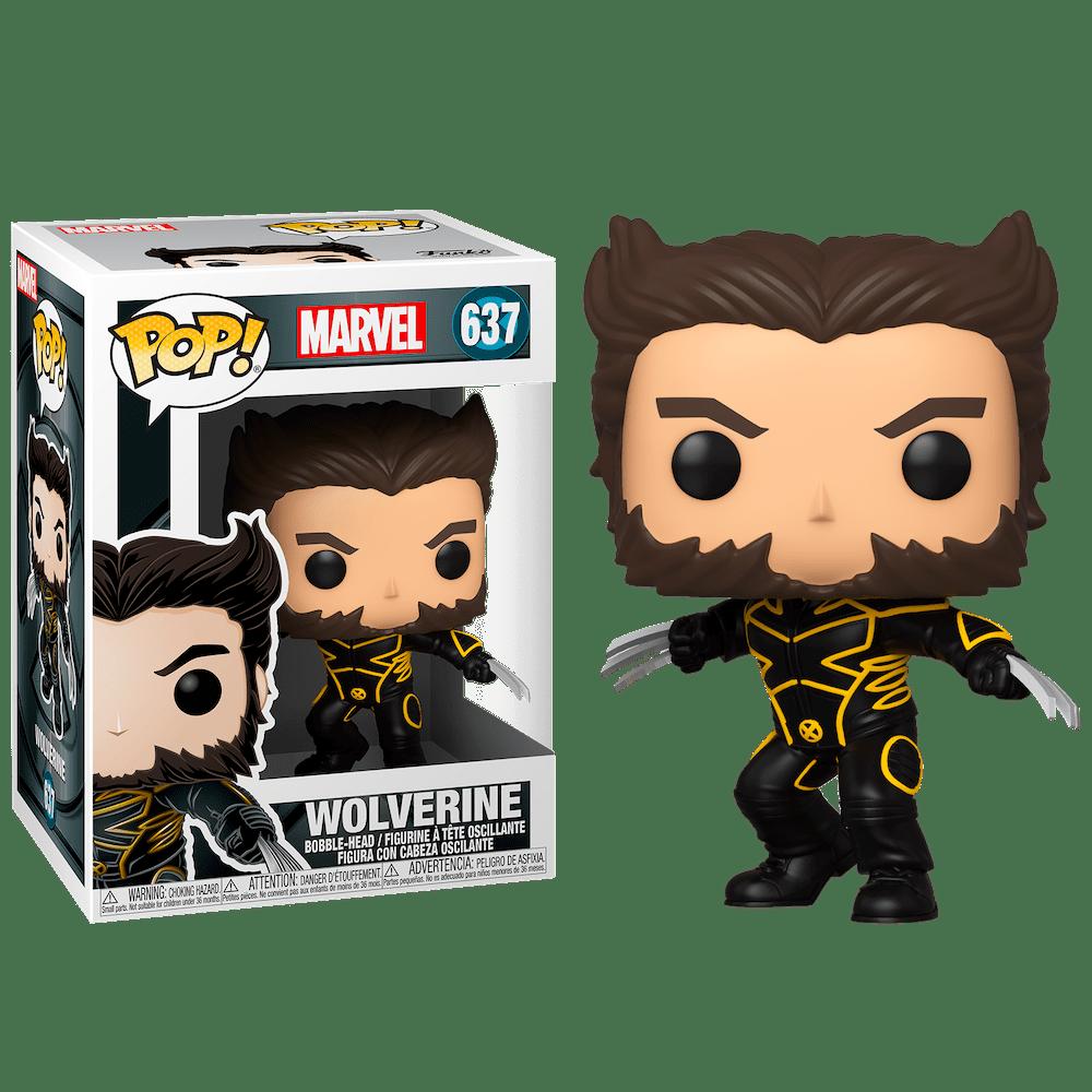 Фанко ПОП Росомаха Джеймс Логан в костюме (Wolverine in Suit 20th Anniversary) из фильма Люди Икс: Последняя битва